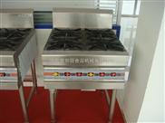 供应爱帮厨厨房设备不锈钢四眼煲仔炉