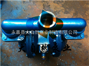 供应QBY-15塑料气动隔膜泵 铝合金气动隔膜泵 衬氟隔膜泵