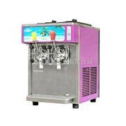 东贝封闭式双缸彩板雪泥机 雪融机 冷饮机XF220A-W
