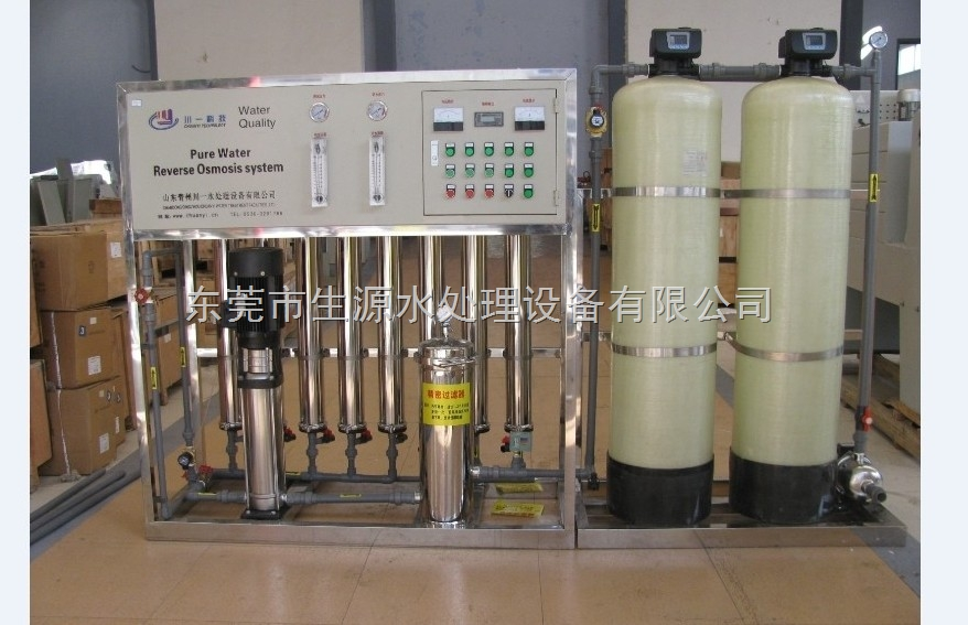 EDI高纯水反渗透纯净水设备+离子交换设备
