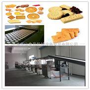 中高档食品厂饼干生产流水线,PLC全自动控制