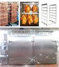 HBYX-2/2T华邦牌双车双门通道式全自动烟熏炉/蒸薰炉 烟熏炉价格