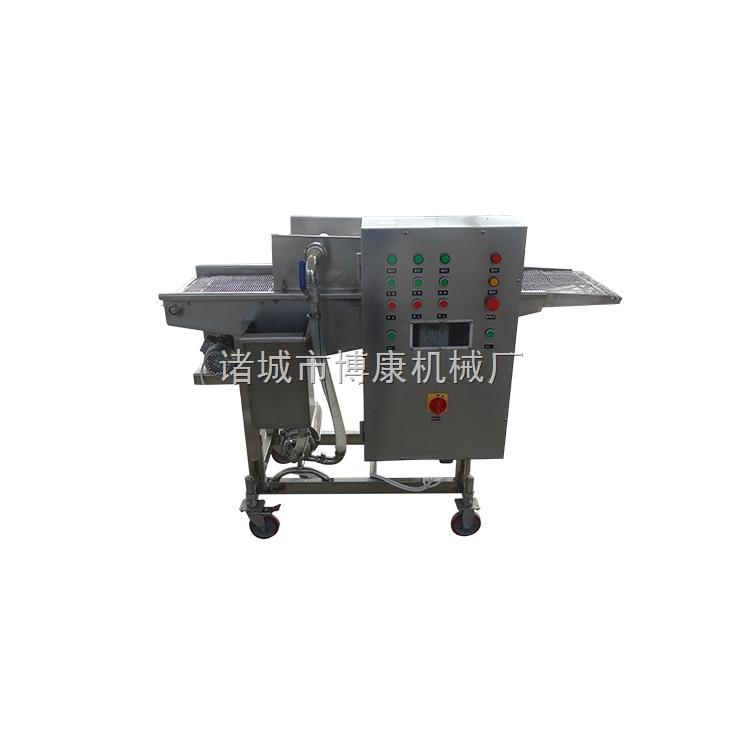 红豆糯米团压饼裹糠机