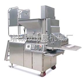 专业生产供应博康牌鸡排鱼排成型机
