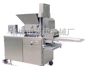 专业生产批发博康牌牛肉饼 鸡排鱼排成型机