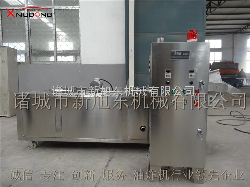 新旭东专产鱼类油炸生产线