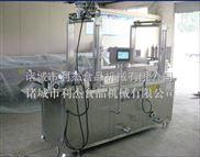 供应 利杰电加热油炸机生产线 触摸屏控制方便操作厂家直销