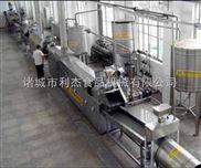 供应 利杰薯条薯片成套油炸机流水线 油水分离专业制造