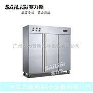赛力斯三大门不锈钢风冷厨房冷柜 立式商用冷藏保鲜冰柜 饭店必备