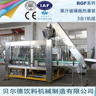 RGF 24-24-8玻璃瓶果汁饮料灌装生产线