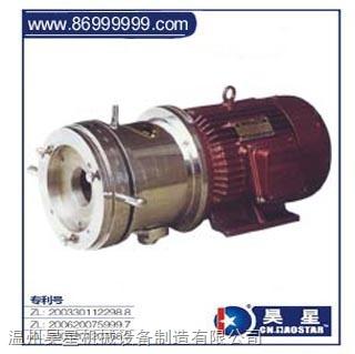 JM-W200a瀝青膠體泵臥式(單冷卻型)