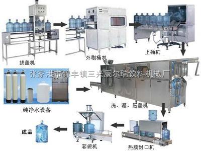 桶装纯净水生产线,桶装纯净水生产线产品概述-张家港