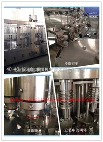CGF小型全自动瓶装水三合一灌装机