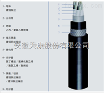 CXF80/DA3*10橡皮绝缘镀锡铜丝屏蔽船用电力电缆