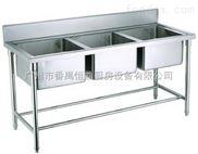 廣州市廚具公司 番禺金品廚房設備安裝工程 星盤水槽池