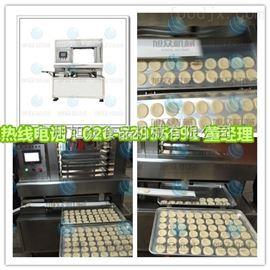 SZ-08湖南酥饼排盘机设备,广宁月饼酥饼排盘机 商用