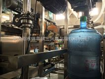 純凈桶裝水三合一灌裝機