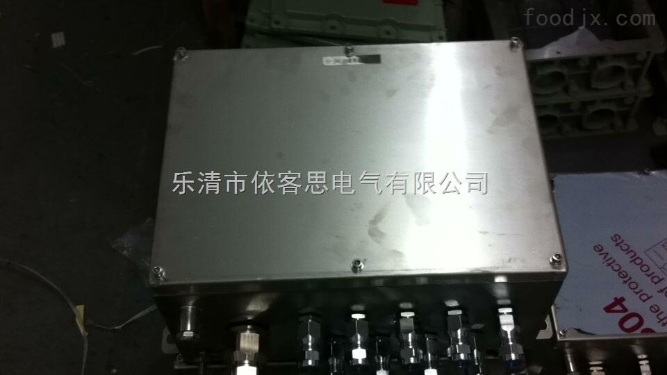 BJX-20/20 不锈钢防爆接线箱(可按要求批量订做)