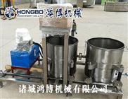 供应酱腌菜压榨脱水机 水果浆渣分离收汁压榨机