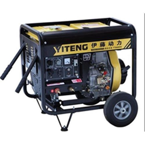 柴油自发电电焊机190A 交流电焊机图片