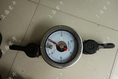 修井专用机械拉力表,2.0级机械式拉力表修井专用